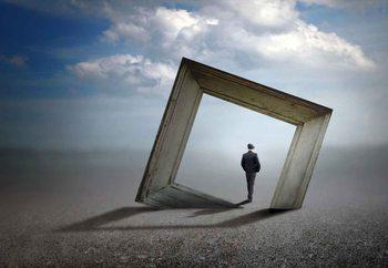 Ταπετσαρία τοιχογραφία  Trough The Frame