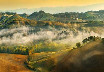 Ταπετσαρία τοιχογραφία  Tuscany Nature