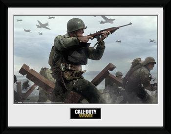 Call Of Duty: Stronghold - WWII Shooter Keretezett Poszter