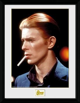 David Bowie - Smoke üveg keretes plakát