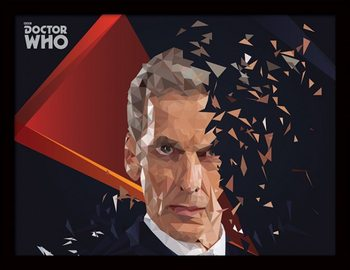 Doctor Who (Ki vagy, doki?) - 12th Doctor Geometric üveg keretes plakát