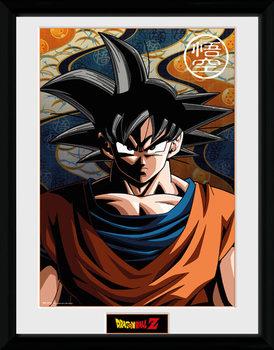 Dragon Ball Z - Goku üveg keretes plakát