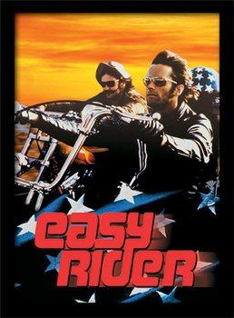 EASY RIDER - cruising üveg keretes plakát