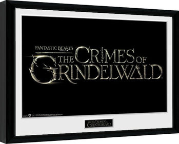 Legendás állatok: Grindelwald bűntettei - Logo Keretezett Poszter