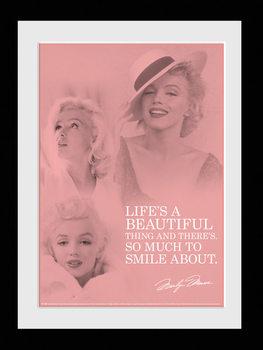 Marilyn Monroe - Angel üveg keretes plakát
