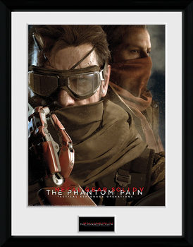 Metal Gear Solid V - Goggles üveg keretes plakát