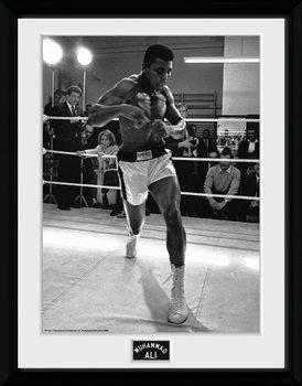 Muhammad Ali - Shadow Box üveg keretes plakát
