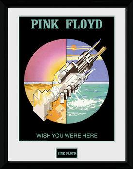Pink Floyd - Wish You Were Here 2 üveg keretes plakát