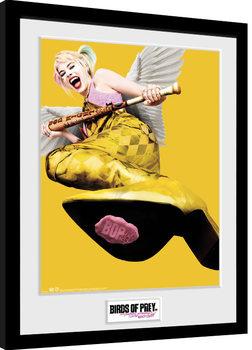 Keretezett Poszter Ragadozó madarak: és egy bizonyos Harley Quinn csodasztikus felszabadulása - One Sheet Wings
