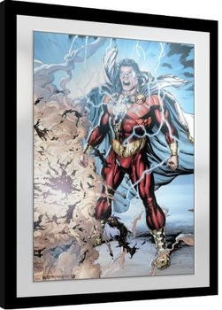 Keretezett Poszter Shazam - Power of Zeus