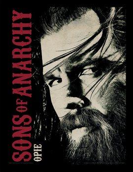 Sons of Anarchy (Kemény motorosok) - Opie Keretezett Poszter