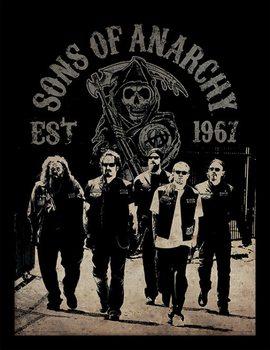 Sons of Anarchy (Kemény motorosok) - Reaper Crew Keretezett Poszter