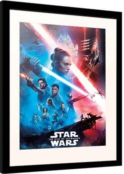 Keretezett Poszter Star Wars: Episode IX - The Rise of Skywalker - One Sheet