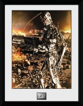 Terminator 2 - Endo üveg keretes plakát