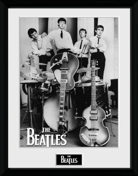 The Beatles - Instruments üveg keretes plakát