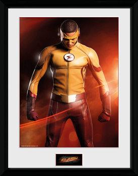 The Flash - Kid Flash üveg keretes plakát