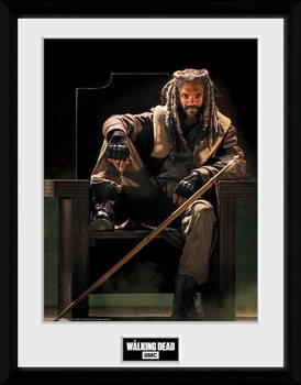 The Walking Dead - Ezekial Keretezett Poszter