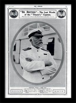 Titanic (5) üveg keretes plakát