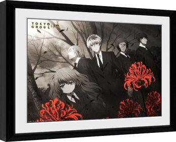 Keretezett Poszter Tokyo Ghoul: Re - Red Flowers