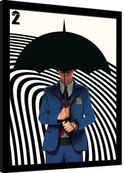 Keretezett Poszter Umbrella Academy - Five