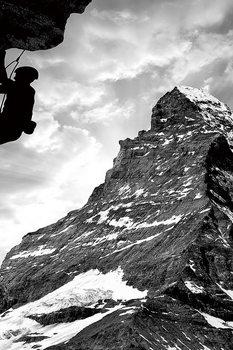 Üvegkép Be Brave - Climb the Mountain