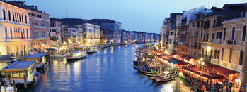 Üvegkép Venice - Venice at Night