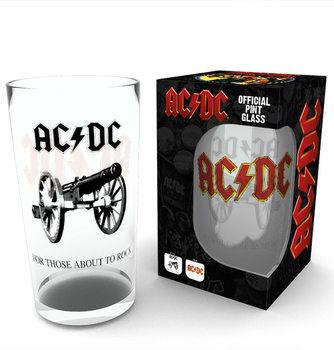 AC/DC - Rock Üvegpohár