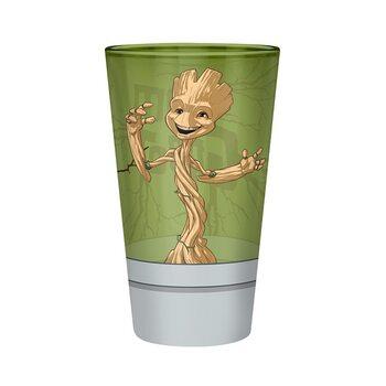 Üvegpohár Marvel - Groot