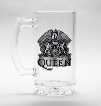 Queen - Crest Üvegpohár