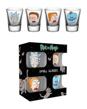 Rick and Morty - Faces Üvegpohár