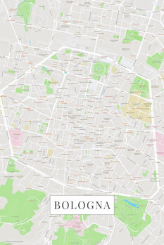 Karta Bologna color