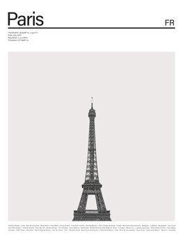 Ilustracija City Paris 2