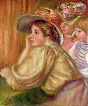 Coco and the two servants, 1910 Reprodukcija umjetnosti
