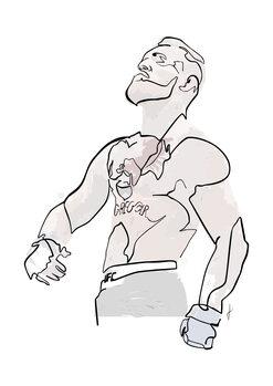 Ilustracija Conor colore