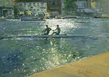 Crossing the Light Break, Henley Reprodukcija umjetnosti