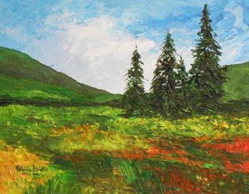 Down the valley, 2012 Reprodukcija umjetnosti