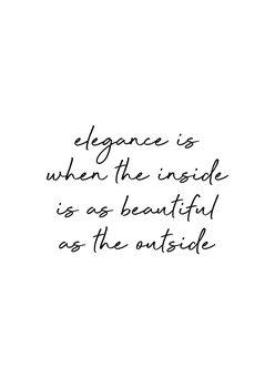Ilustracija Elegance Quote