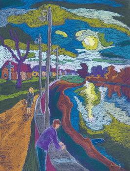 Encouter by Setting Sun, 2008 Reprodukcija umjetnosti