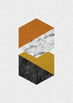 Ilustracija Geometric Hexagons