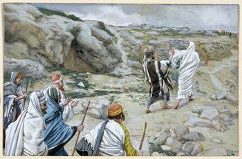 Get Thee Behind Me, Satan, illustration for 'The Life of Christ', c.1886-94 Reprodukcija umjetnosti