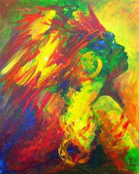 Guatiguana the Taino, 2011 Reprodukcija umjetnosti