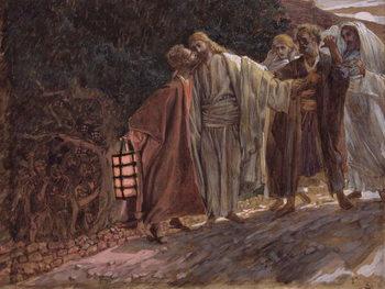 Hail Master, and He Kissed Him, illustration for 'The Life of Christ', c.1886-94 Reprodukcija umjetnosti