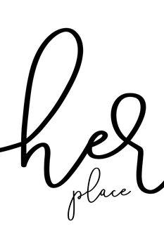 Ilustracija Her place