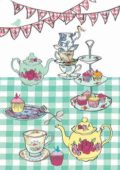 High tea birthday, 2013 Reprodukcija umjetnosti