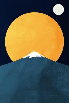 Ilustracija Himalaya At Night