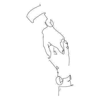 Ilustracija Hold