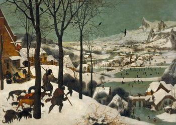 Hunters in the Snow (Winter), 1565 Reprodukcija umjetnosti
