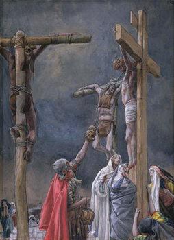 I Thirst. The Vinegar Given to Jesus, illustration for 'The Life of Christ', c.1884-96 Reprodukcija umjetnosti
