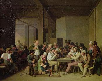Inn Scene Reprodukcija umjetnosti