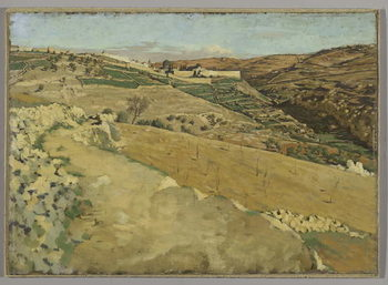 Jerusalem and Siloam, South Side, illustration from 'The Life of Our Lord Jesus Christ' Reprodukcija umjetnosti